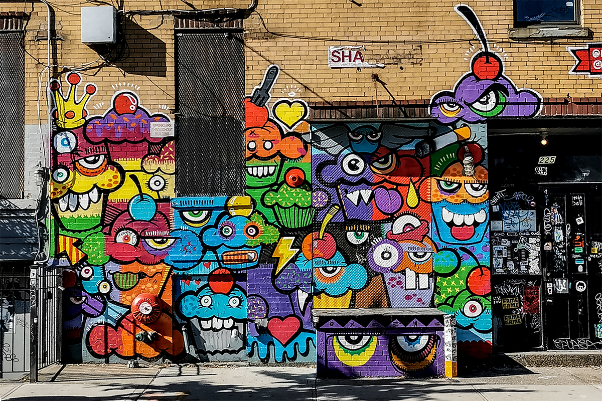Bushwick Collective Mural Augen