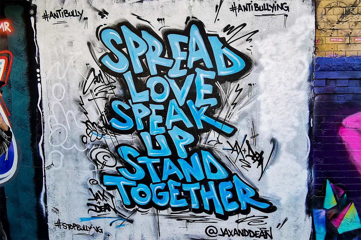 Bushwick Collective Mural Spread Love