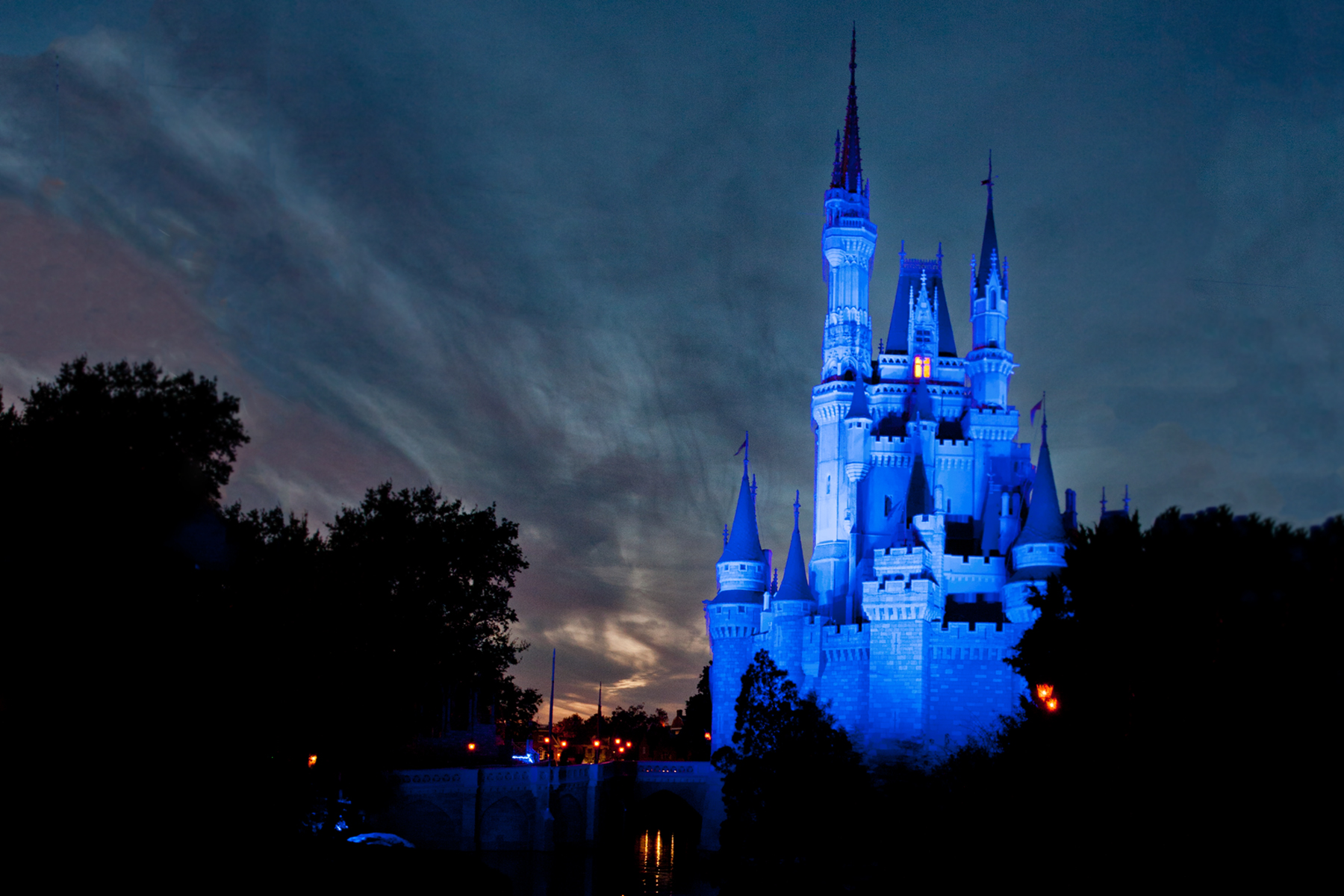 Florida Orland Disney Schloss