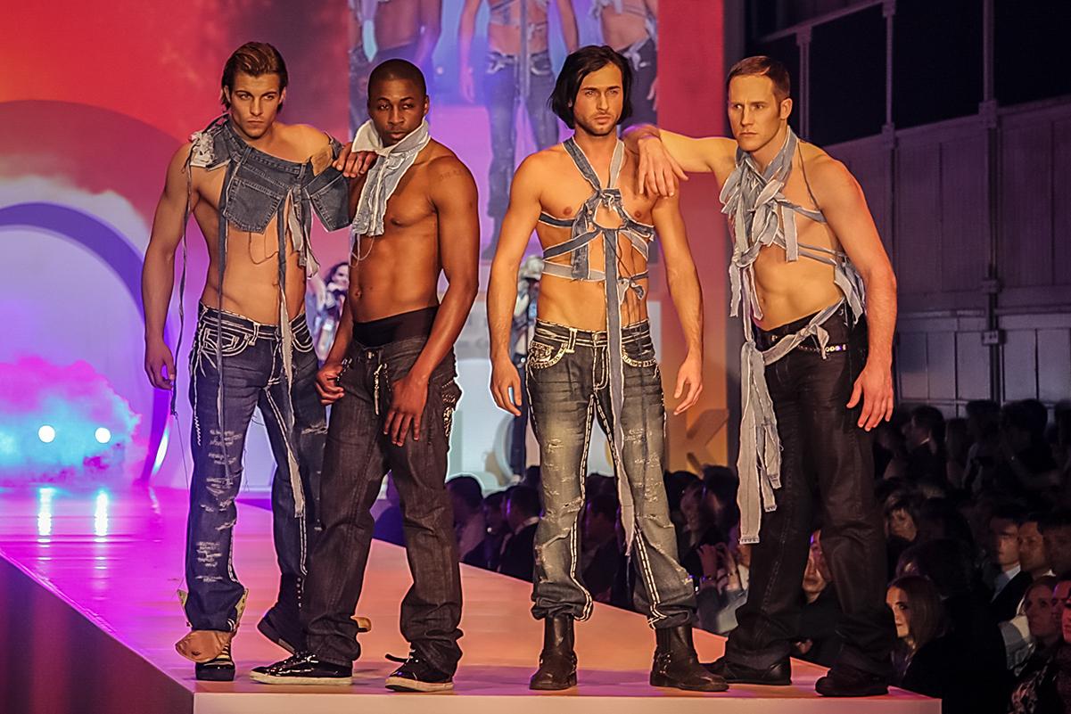 Fashionshow Outlook Dresden Runway Männer
