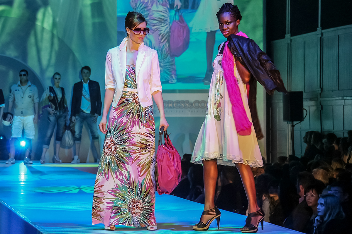 Fashionshow Outlook Dresden Frauen