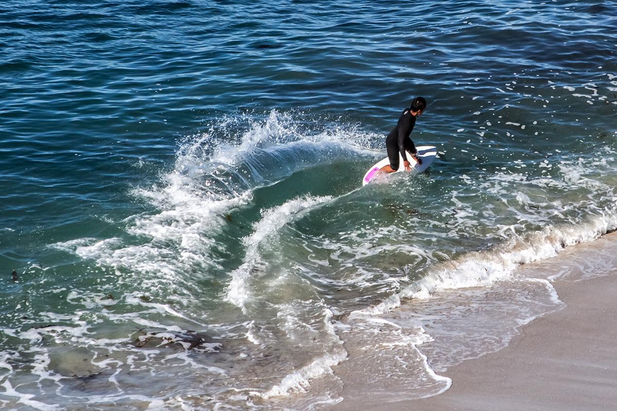 San Diego La Jolla Surfer