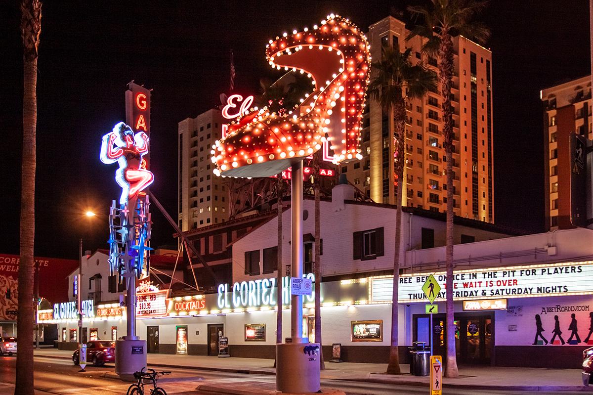 Las Vegas Downtown High Heel