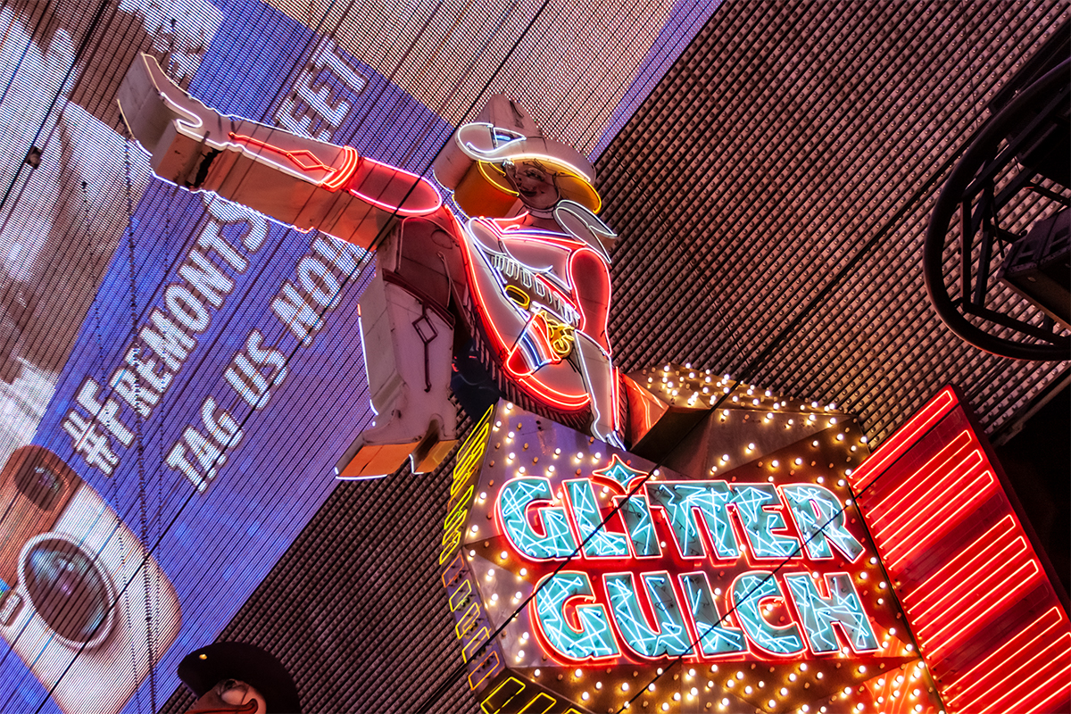 Las Vegas Fremont Street Glitter Gulch